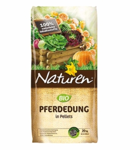 Naturen® BIO Pferdedung in Pellets (20 kg)